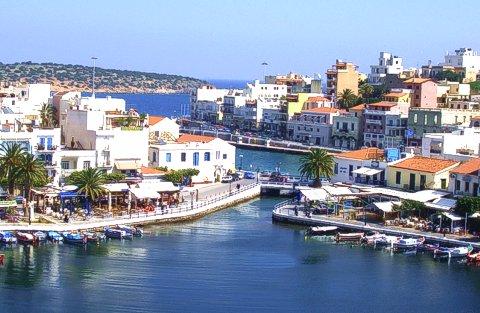 Agios Nikolaos town Lassithi Crete