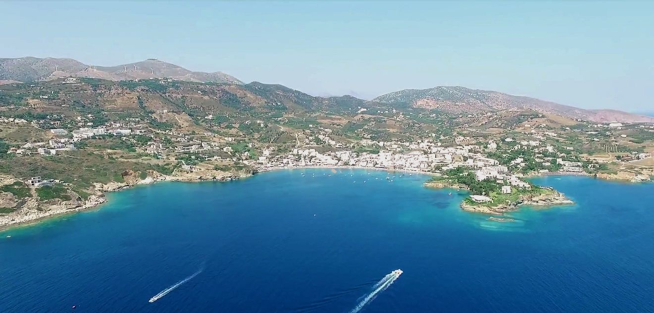 The coastal resort of Agia Pelagia is built along a wonderful sandy bay b54de90532c